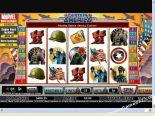 spelautomater gratis Captain America CryptoLogic