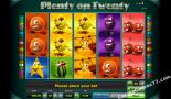 spelautomater gratis Plenty on twenty Greentube