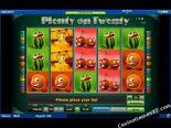 spelautomater gratis Plenty on Twenty Novomatic